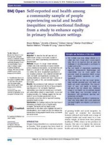 EQUIP Findings related to oral health
